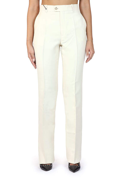 Gucci Gg' Crepe Cady Silk Pants