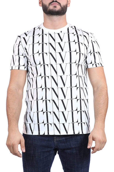Valetino patterned t-shirt
