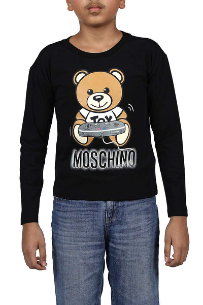 Moschino Kids Short-Sleeved Print T-Shirt For Boys