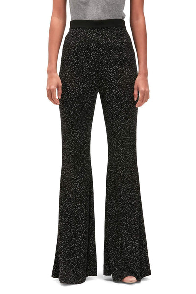 Balmain Rhinestone Flaired Trousers