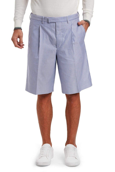 PRADA Striped Chino Shorts
