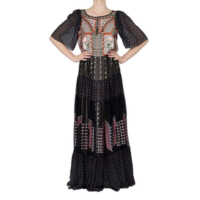 Temperley Embroidered Dress with Studs