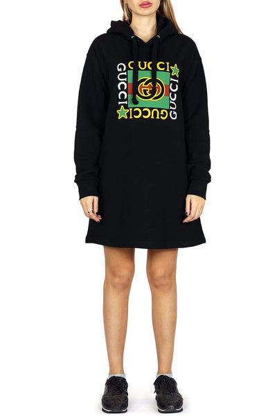 Gucci Cotton hoodie dress
