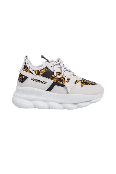 Versace Chunky Patterned Sneakers
