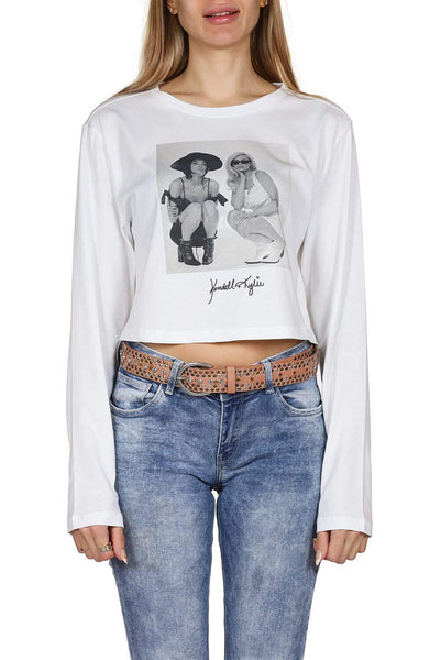 Kendall + Kylie Photoprint T-Shirt