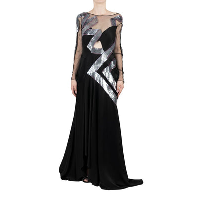 Temperley Sequined Dress
