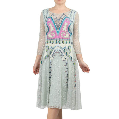 Temperley Lace Midi Dress
