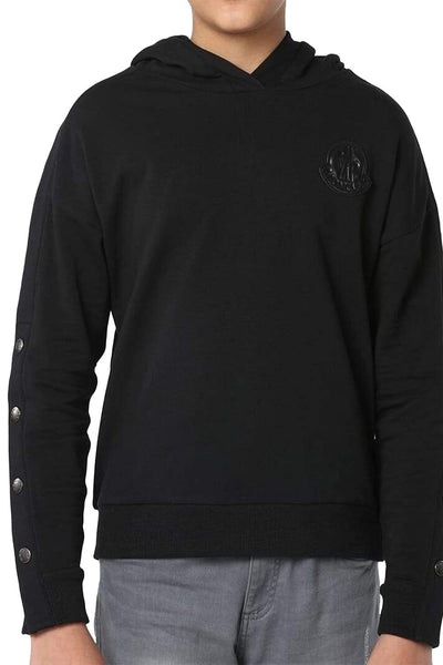 Moncler Button Sleeved Hoodie