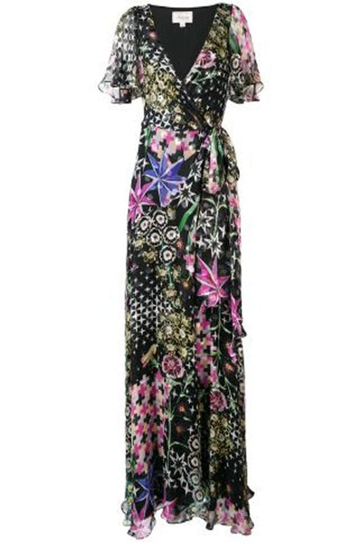 TEMPERLEY CLAUDETTE WRAP DRESS