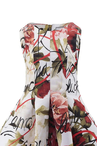 Philipp Plein Floral Dress