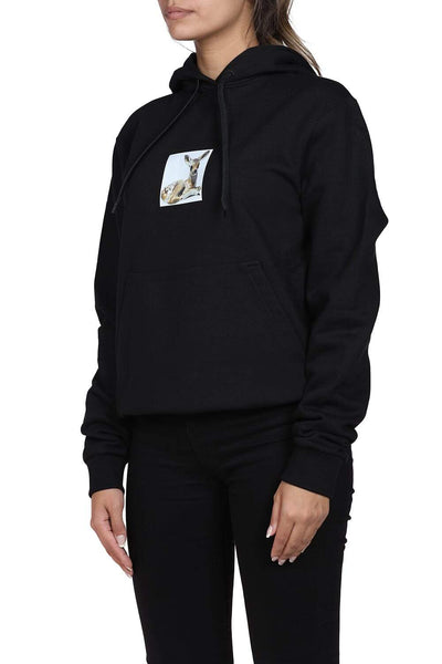 Burberry Black Hoodie For Women From Burberry