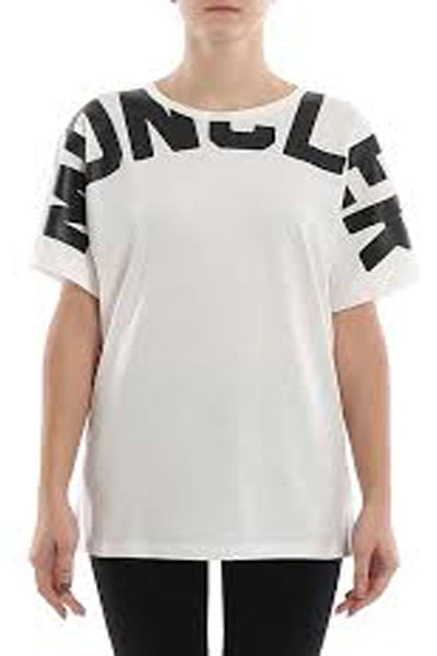 Moncler Shoulder-Print T-Shirt