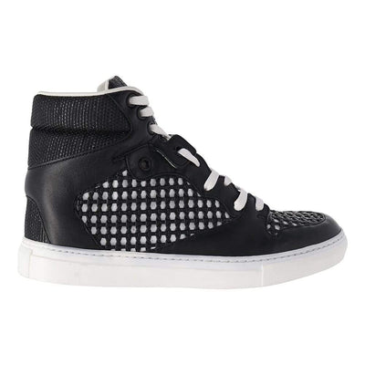 Balenciaga High-Top Mesh Sneaker