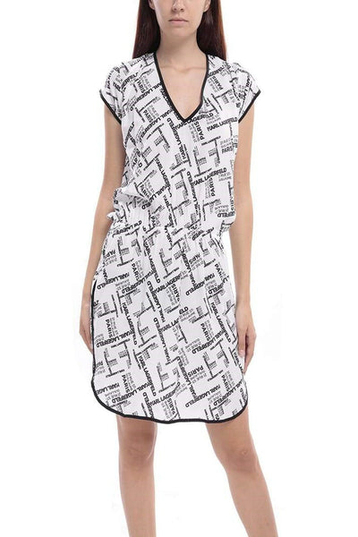 Karl Lagerfeld Patterned Mini Dress
