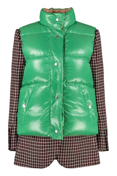 Burberry Tartan Jacket with Detachable Gilet