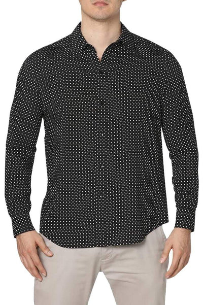 Celine Polka-Dot Button-Down Shirt