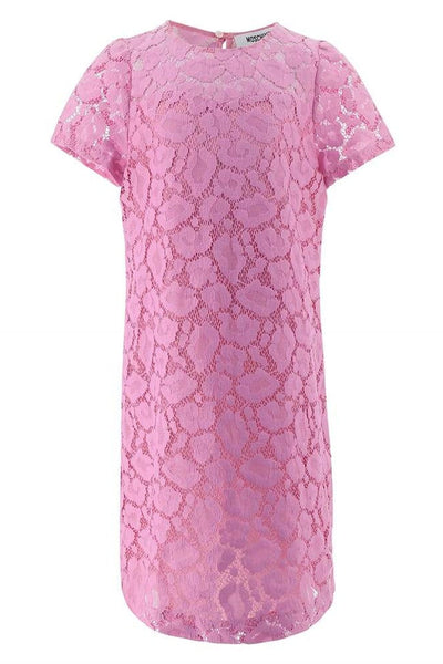 Moschino Pink Lace Layer Dress