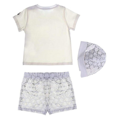 Moncler Cotton Three-Piece Set