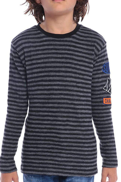 MSGM Striped Long Sleeve Shirt