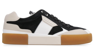D&G Two-Tone Suede Sneakers
