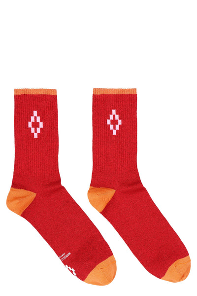 Marcelo Burlon Cotton Socks