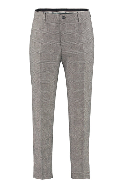 DOLCE & GABBANA Slim-Fit Tweed Trousers