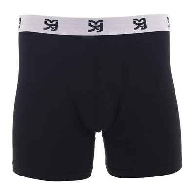 XY Black Mens Boxer - Pack Of 3