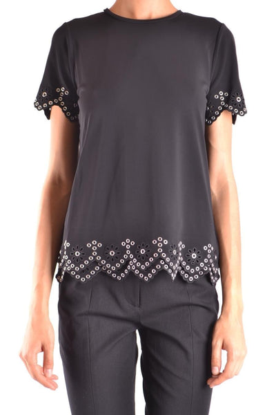 Michael Kors studded flowers t-shirt
