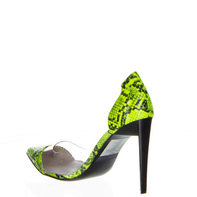 Kendall + Kylie Neon Lime Pumps