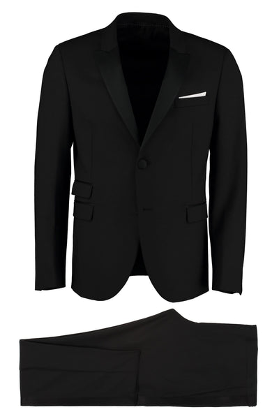 Neil Barret Wool Blend Two-Piece Suit