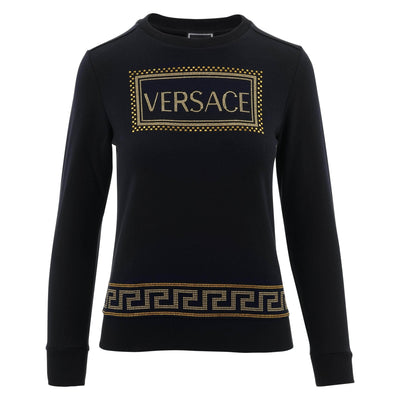 Versace Studded Cotton Sweater