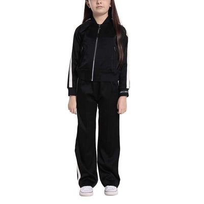 MONCLER KIDS 2 PCS ENVERS SATIN BLACK