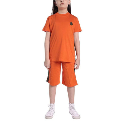 Moncler Orange Kids Set