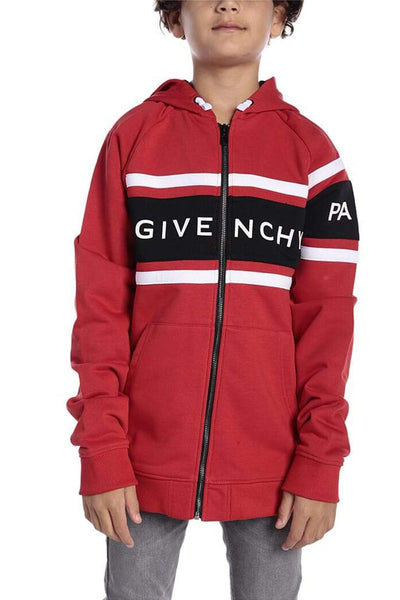 Givenchy Full-Zip Cotton Hoodie