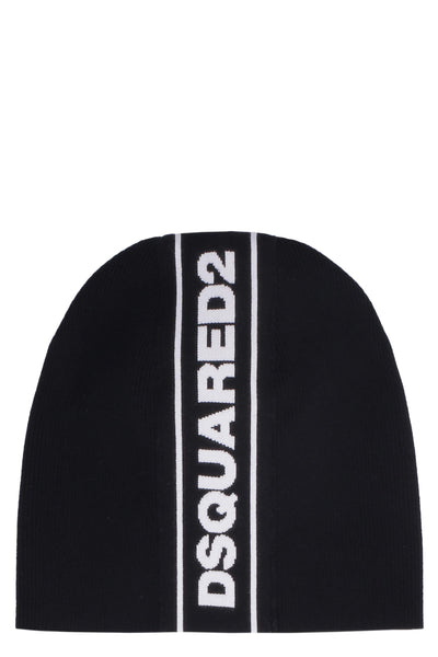 Dsquared2 Logoed Knitted Hat