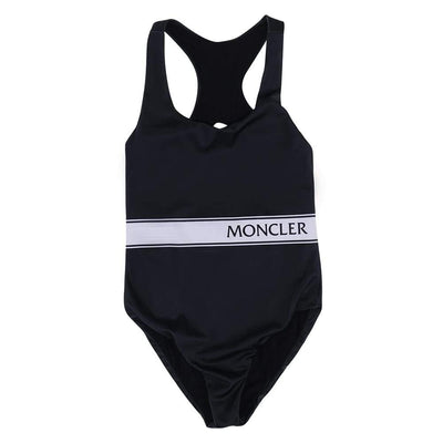 MONCLER KIDS SWIMWEAR PRINTED LYCRA BLACK
