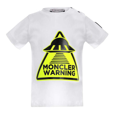 MONCLER KIDS SS T-SHIRT JERSEY STRETCH LIGHT BLUE