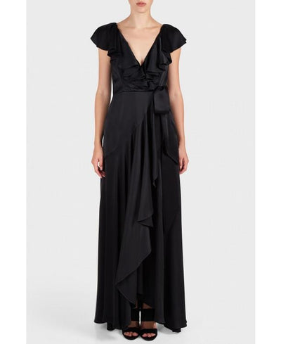 TEMPERLEY JULIETTE RUFFLE DRESS