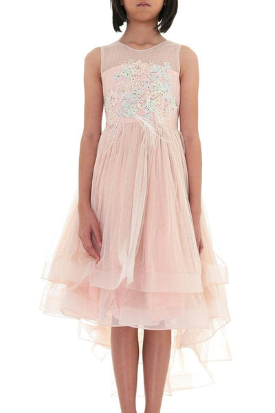 Aoki Pink Princess Girls Dress