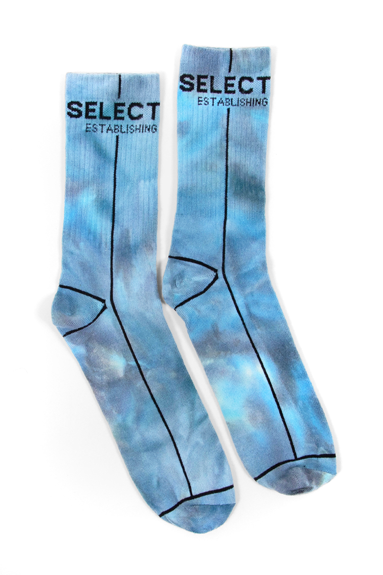 Select Start Socks (Blue Tie Dye) - Select Start