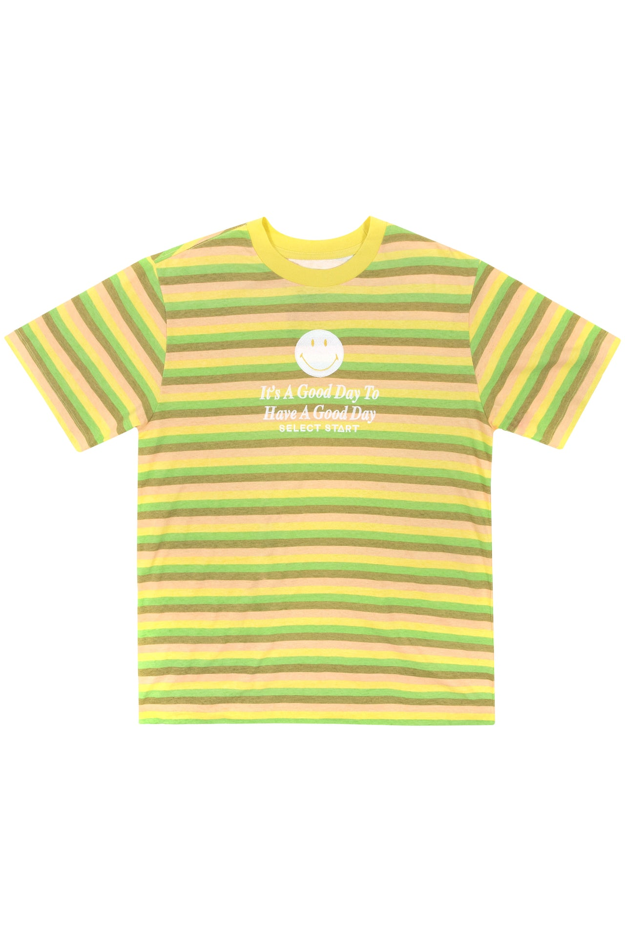 Smiley Stripe Tee - Select Start