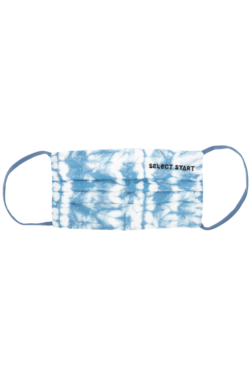 Reusable Face Mask - Blue Tie Dye - Select Start