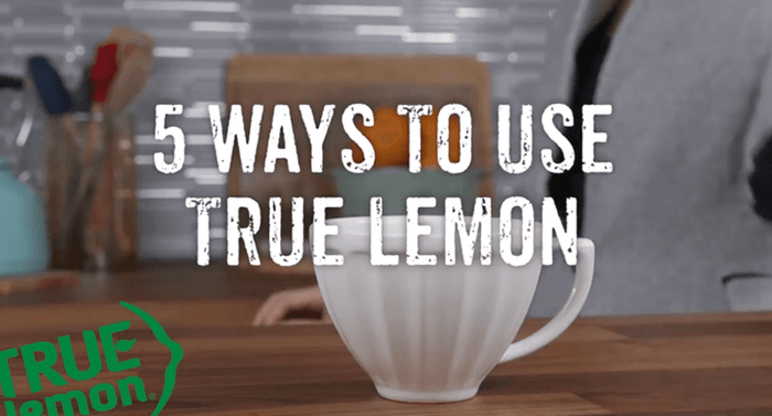 5 Ways to Use True Lemon