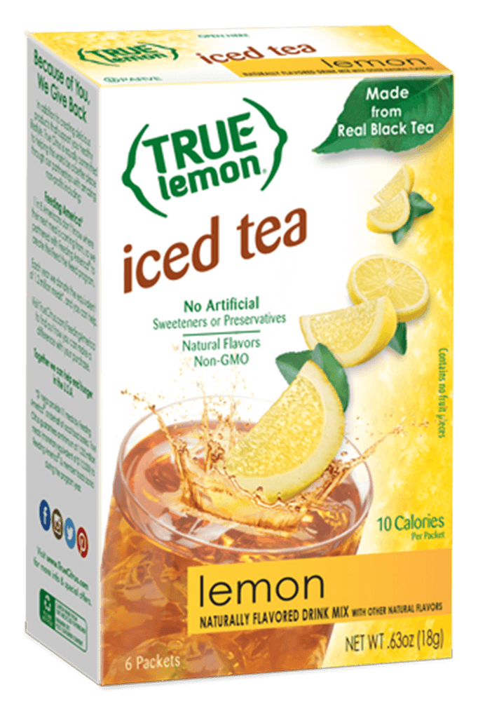 True Lemon Lemon Iced Tea Drink Mix True Citrus