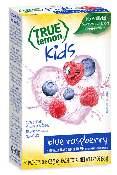 True Lemon Kids Blue Raspberry