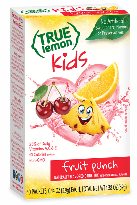 True Lemon Kids Fruit Punch