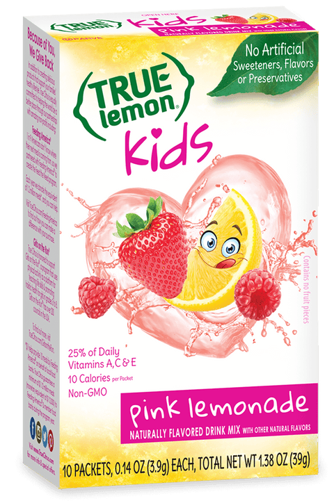 True Lemon Kids Pink Lemonade
