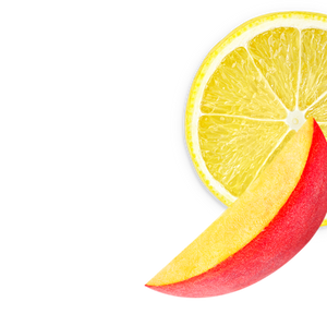 lemon-peach background image, right side