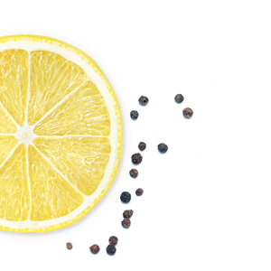 lemon-pepper background image, left side