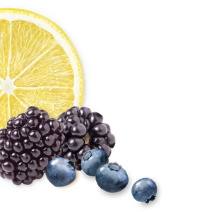lemon-wildberry background image, left side